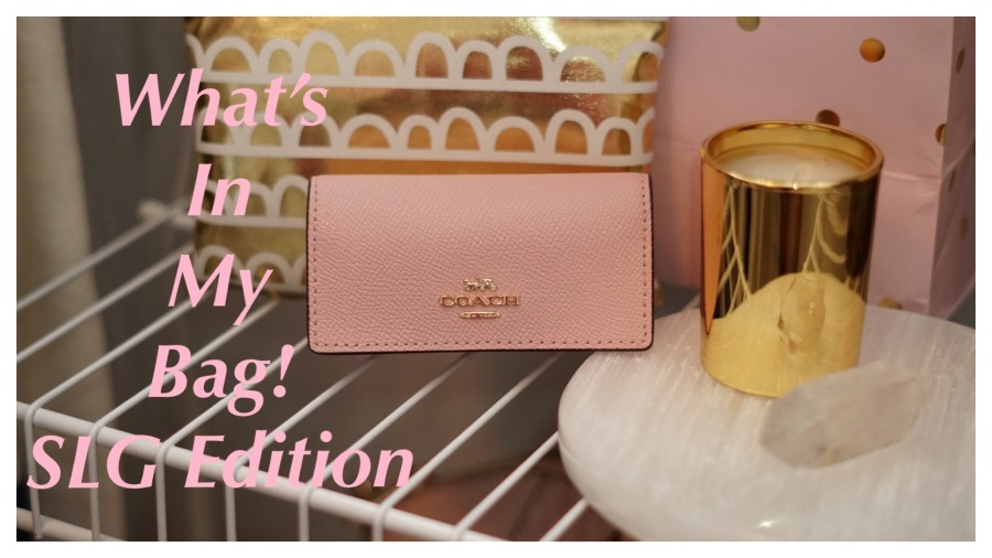 Six Ring Key Case by Coach| What's In My Bag: SLG Edition| The Lux Angel