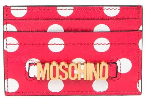 designer fashion 3f166 0f4ea Moschino Card Case | Luxury Haul | Shop With Me | TheLuxAngel – The ...