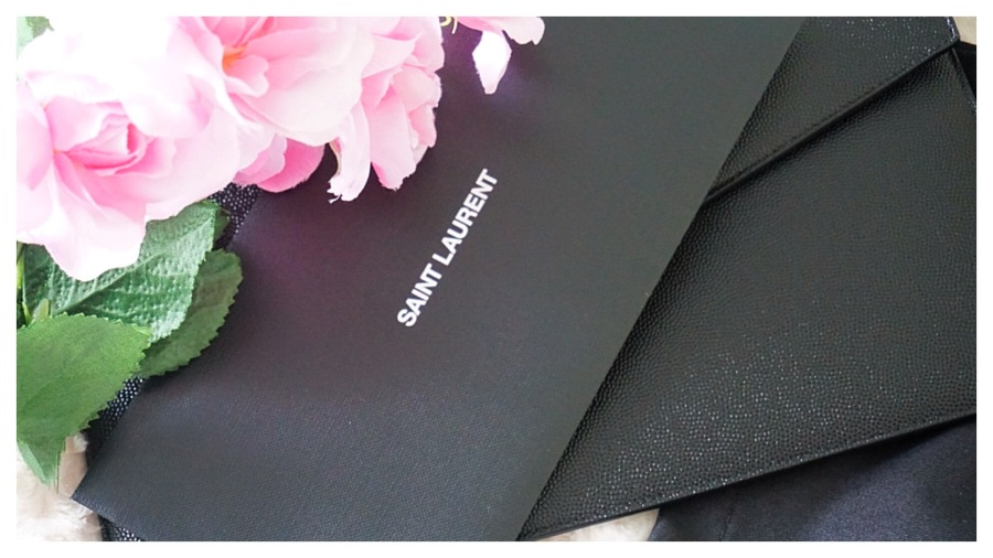 Saint Laurent Uptown Pouch Unboxing | TheLuxAngel | YSL Luxury Haul