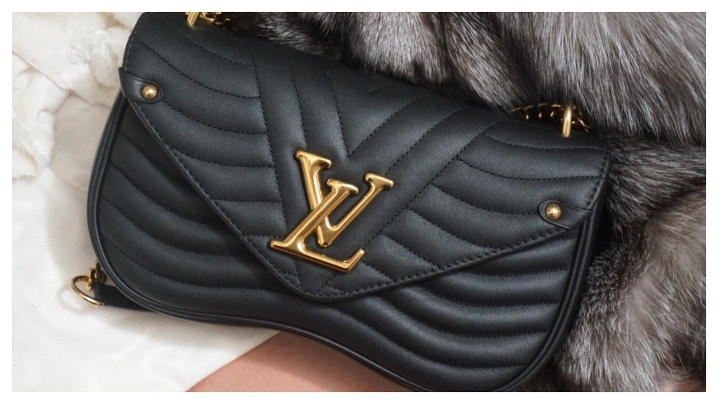 Louis Vuitton New Wave Chain Bag Mm | Unboxing + Mod Shots | The Luxe Angel
