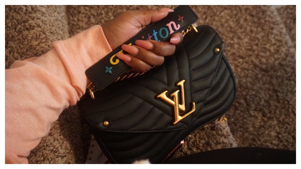 WIMB feat. Louis Vuitton New Wave Chain Bag MM + Tones Fashion Gel Polygel Review | The Luxe Angel