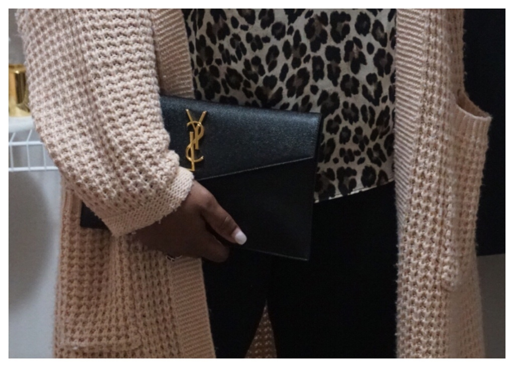 Low Key Ft. Saint Laurent Uptown Pouch   The Luxe Angel