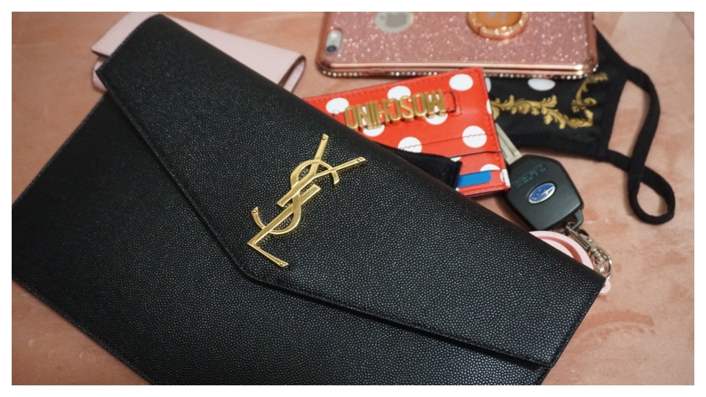 WIMB Ft. Saint Laurent Uptown Pouch | The Luxe Angel | What's In My Bag