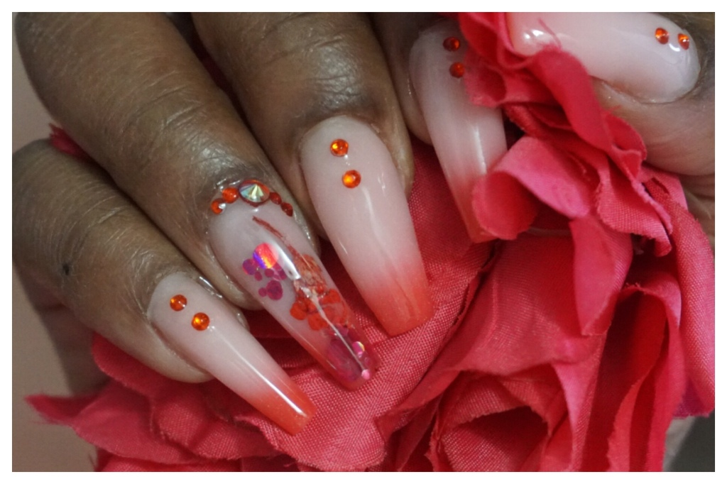 Be My Valentine |Valentine's Day Nails Ft. SXC Cosmetics | The Luxe Angel