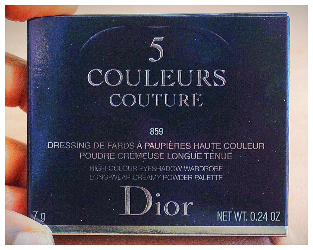 Pink Corolle | Dior 5 Couleurs Couture Shadow Palette | The Luxe Angel