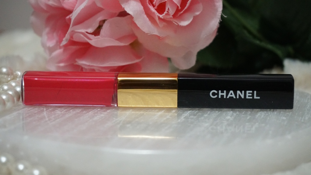 Think Pink Ft. Chanel Beauty | Luxe Beauty Haul | The Luxe Angel  Chanel Le rouge duo Ultra Tenue 59 shocking pink