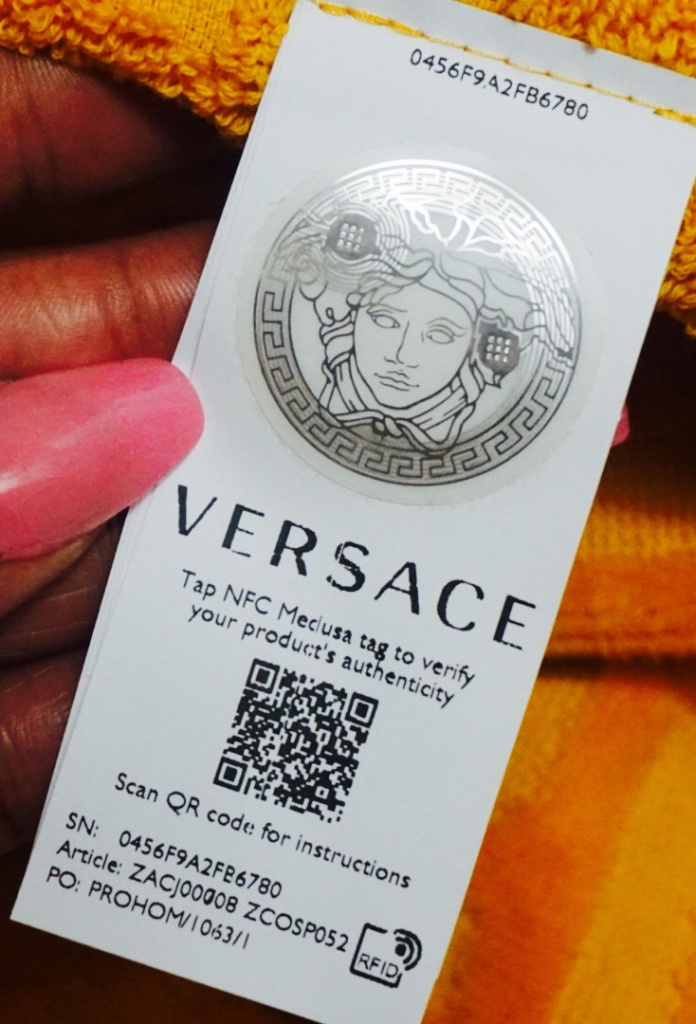 Do You Know What Today Is? | #SelfCareSunday Ft. Versace Home | Unboxing | The Luxe Angel Versace bathrobe