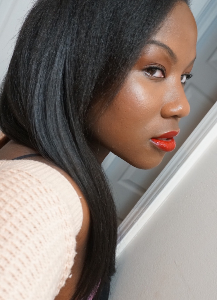 Daring Red Ft. Chanel Le Rouge Duo Ultra Tenue | #MOTD | The Luxe Angel