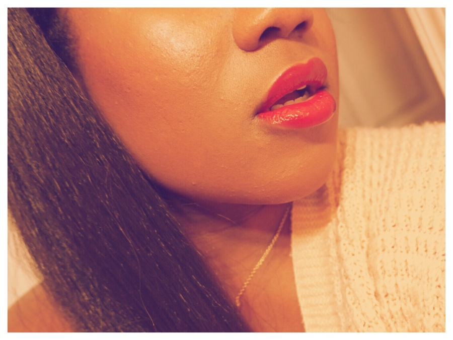 Daring Red Ft. Chanel Le Rouge Duo Ultra Tenue   #MOTD   The Luxe Angel