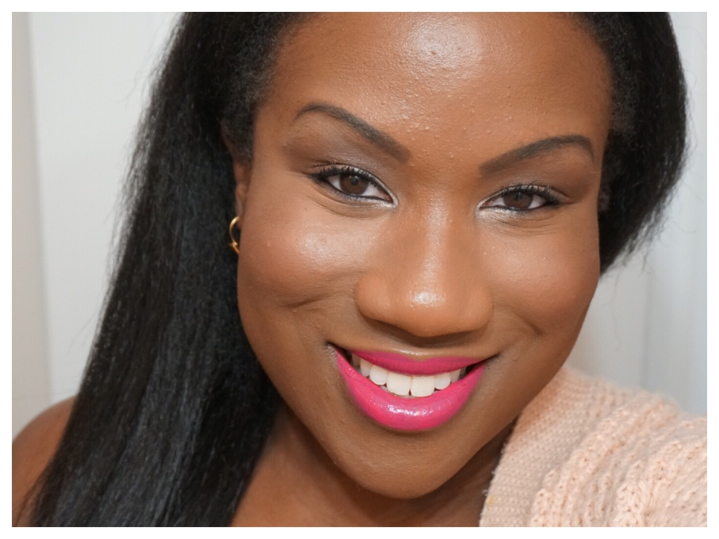 Shocking Pink Ft. Chanel Le Rouge Duo Ultra Tenue   MOTD   The Luxe Angel